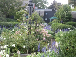 The garden of the House of seven Gables, Salem