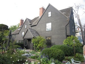 The House of Seven Gables colonial mansion, built 1668, Salem