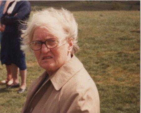 Aunty Helen in one of her good moods