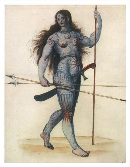 Pictish Woman